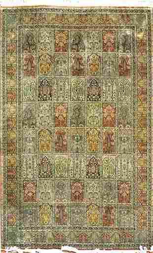 Vintage Indian Keshmir Rug