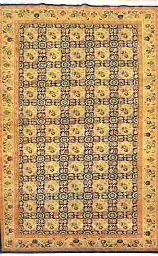 Vintage Turkman Afghan Rug