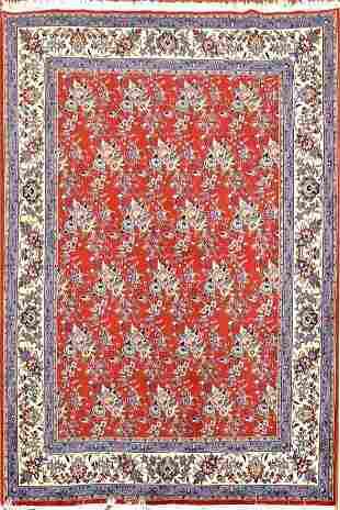 Vintage Sarouk Persian Rug