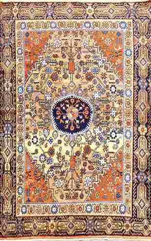 Antique Khotan Turkish Rug, Circa 1900