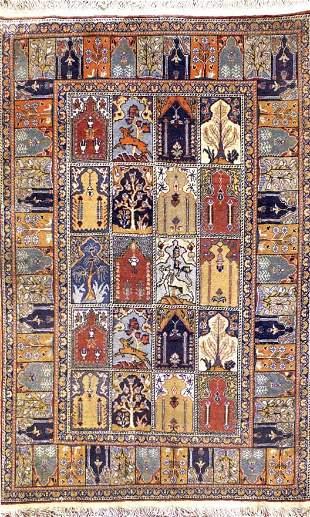 Antique Kaisari Turkish Rug