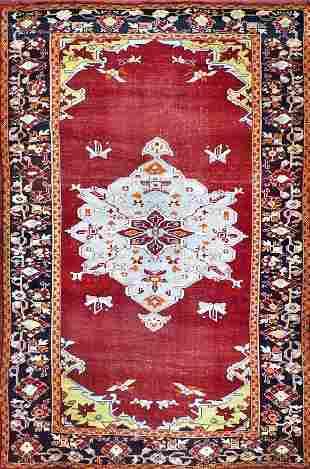 Antique Turkish Rug, Circa 1890