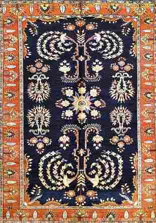 Antique Sarouk Persian Rug, Circa 1890