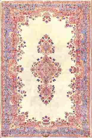 Vintage Kerman Persian Rug