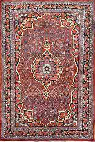 Vintage Bidjar Persian Rug