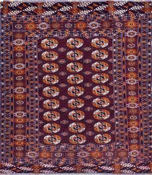 Semi Antique Turkman Rug