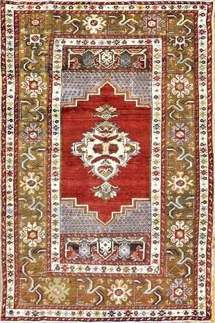 Antique Kosheir Turkish Rug
