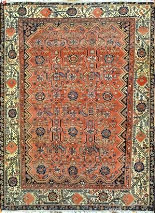 Vintage Senneh Persian Rug