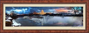 AmeriCan Panoramic Canvas Print