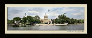 The U.S Capitol and The Reflecting Pool Panoramic on