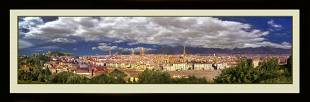 Panoramic Photo Of City Of Florance Italy