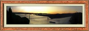 Magnificent Panoramic Photo Of Early Sunrise Over San