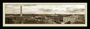 Rare Panoramic View Of Washington D.C.