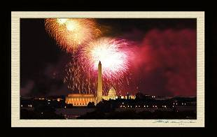 Photo Of The Washington D.C Firework - 4th of July