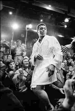 David Burnett's: Muhammad Ali- Salt Lake City,1974