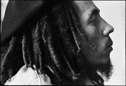 David Burnett's: Bob Marley- at Tuff Gong, 1976