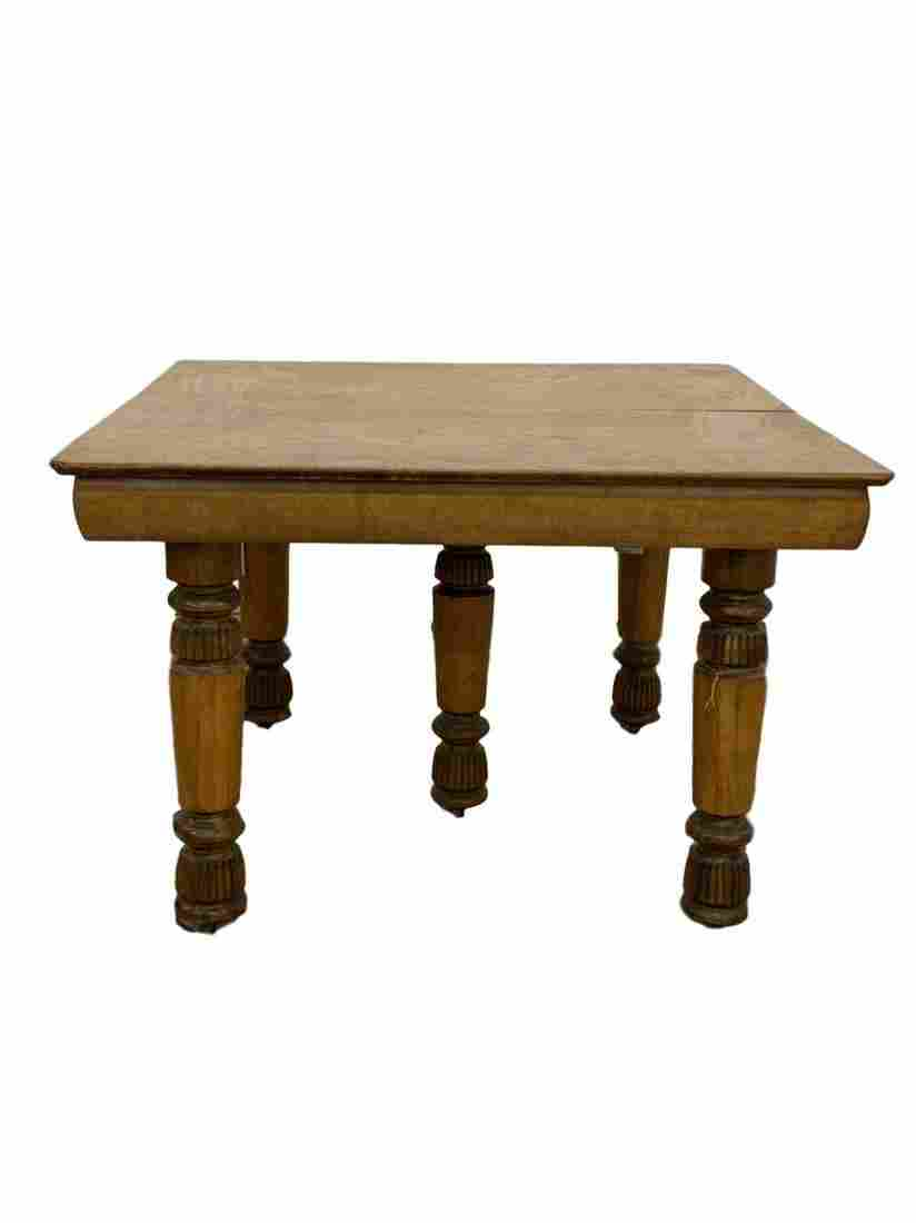 Antique Curly Maple gateleg table