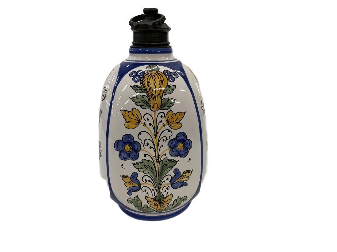 Hungary hand painted jar