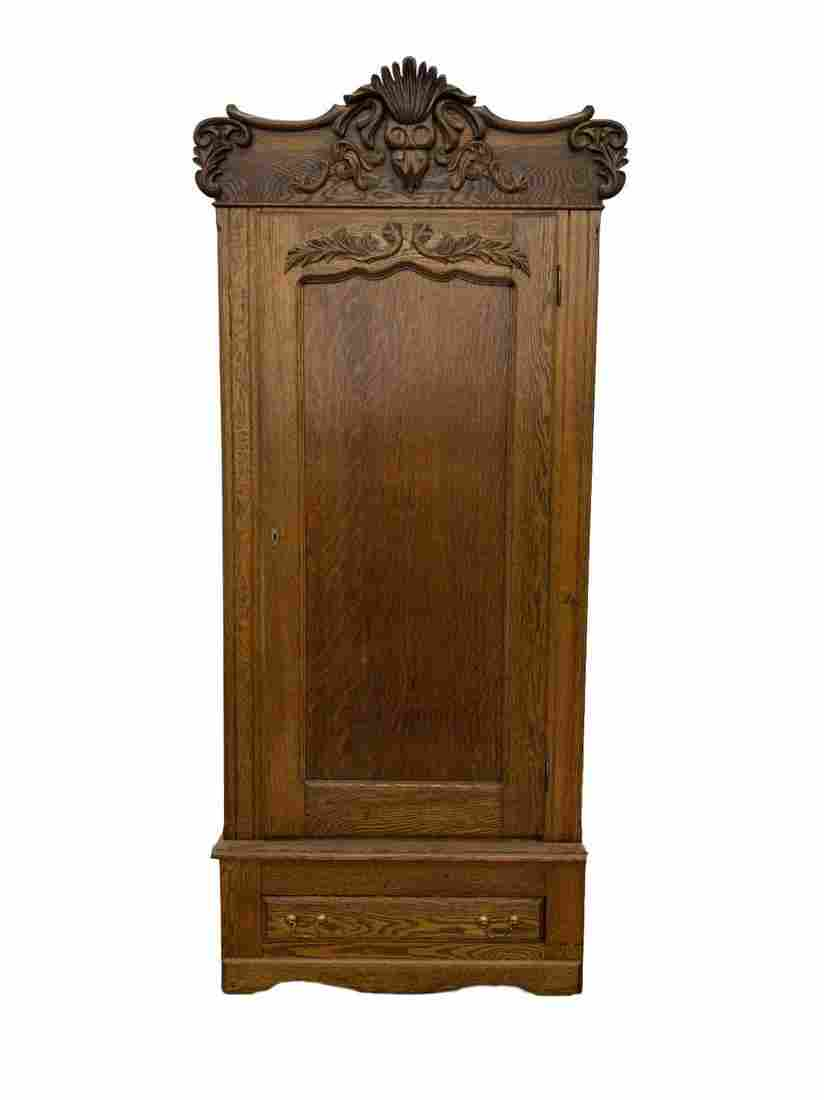 Antique French Provencial oak Wardrobe