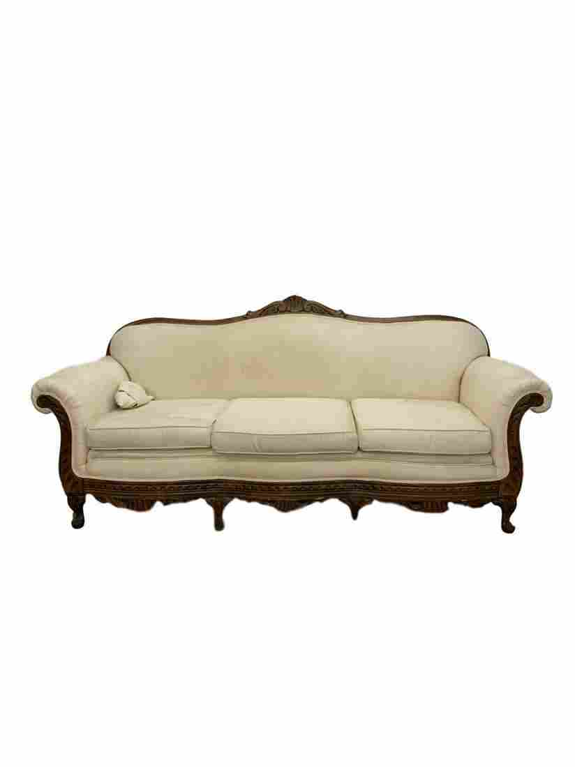 Vintage french provencial sofa
