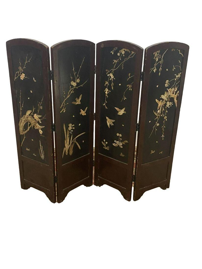 Vintage asian small room divider