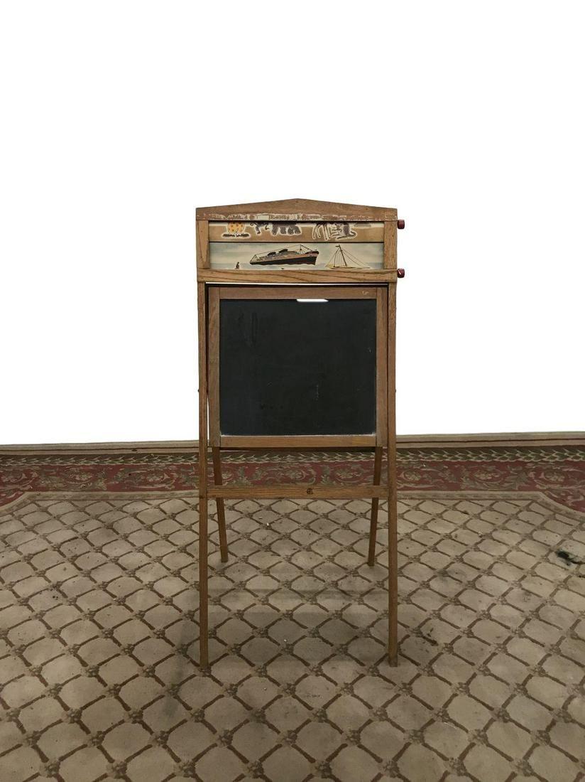 vintage childs chalkboard