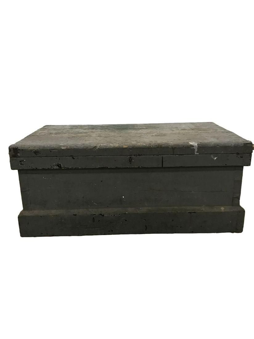 antique tool chest