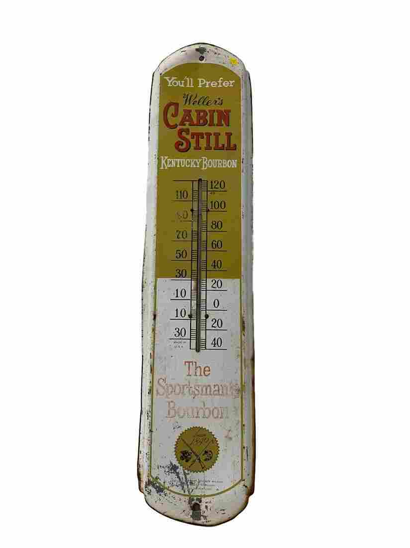 Vintage Cabin Still thermometer