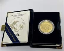 A 2006 MINT-M 1 ounce Gold Buffalo Proof Coin