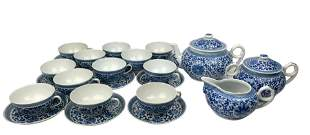 A Chinese Blue & White Porcelain Coffee & Tea Cup