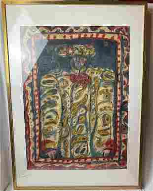 Raymundo Gonzalez Painting Untitled