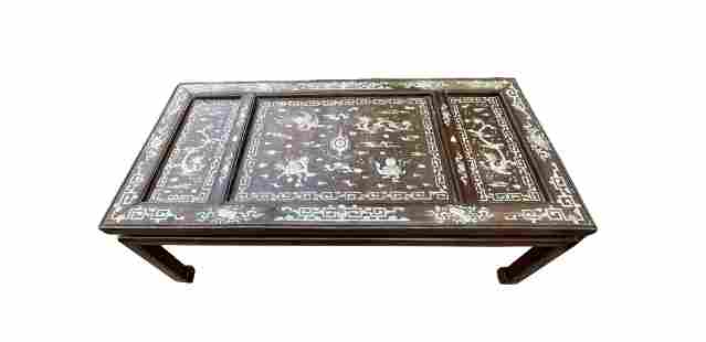 An Ex-Sotheby Chinese Rosewood Table