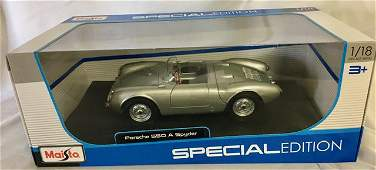 Porsche 550 A Spyder 1/18 Die Cast Maisto