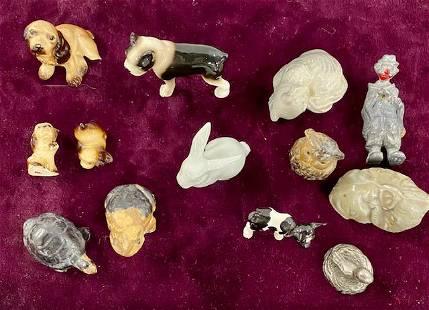 Assortment of 13 Miniatures
