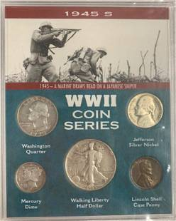 WWII Coin Series 1945 S