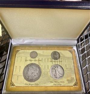 San Francisco Mint Coin Collection in Box