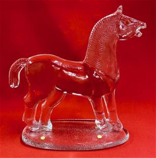 Crystal Glass Horse