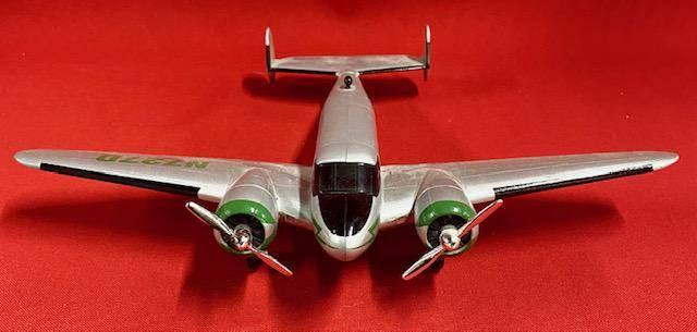 John Deere Airplane Die Cast Bank