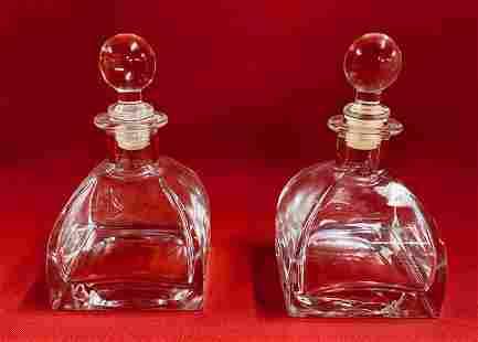 Pair of Dresser Bottles