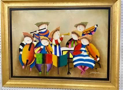 Joyce Roybal Painting
