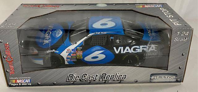 NASCAR Die Cast 6 Viagra Car