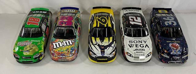 5 NASCAR Diecast Cars 124 Scale