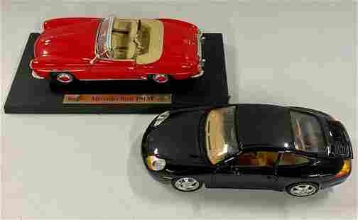 Die Cast Mercedes Benz/Porsche Carrera