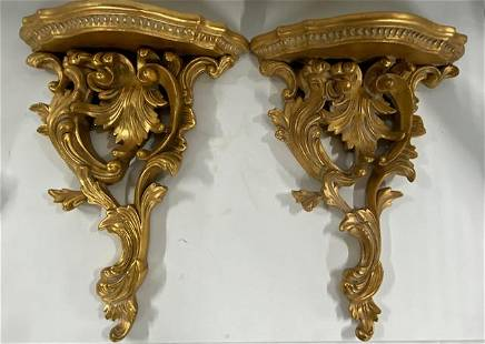 Pair of Decorator Wall Sconces