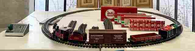"LGB ""G"" Scale The Big Train and Tracks"