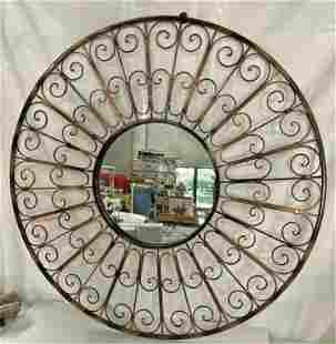 Metal Decorator Mirror