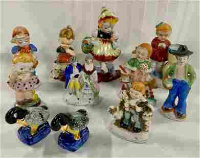 11 Assorted Occupied Japan Figurines