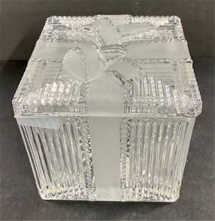 Lead Crystal Box Made in Poland
