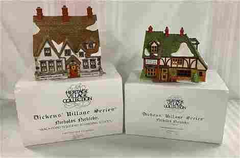 Dept 56 Dickens' Village - 2 Houses