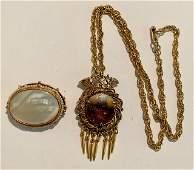 2 Pcs aVintage Costume Jewelry